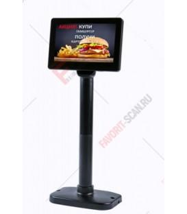 Дисплей покупателя АТОЛ PD-7000 USB, LCD 800*600, черный