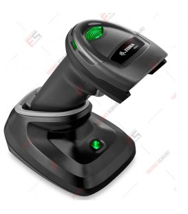 Беспроводной 2D сканер штрих-кода Zebra DS2278 (DS2278-SR7U2100PRW) с кабелем USB и зарядной подставкой