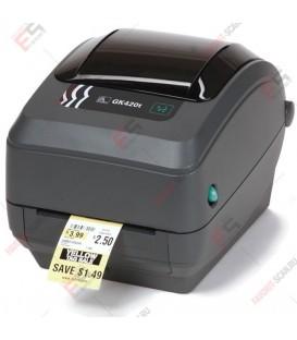 Принтер этикеток Zebra GK420t (АКЦИЯ! ДОП. СКИДКА 10% ОТ РОЗНИЧНОЙ ЦЕНЫ)