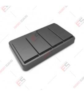 4х-слотовое зарядное устройство аккумуляторов для Newland N7 (CDN7-4B) с кабелем питания