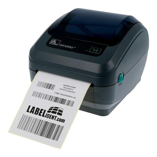 Принтер этикеток Zebra промышленный